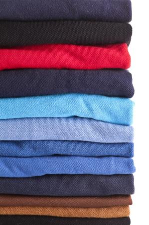 Textilien different colours photo