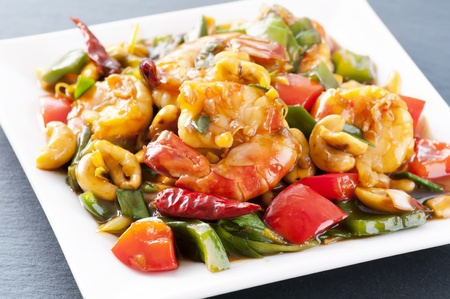 Prawns sweet-sour  photo