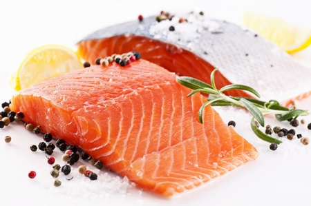 foodie: Fresh salmon with spices