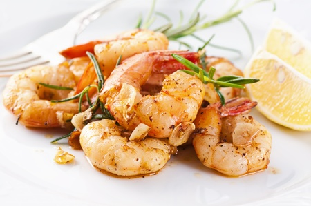 tiger shrimp: fried king prawns