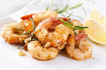 scampi: fried king prawns