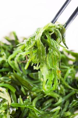 kelp: Ensalada de algas frescas Foto de archivo