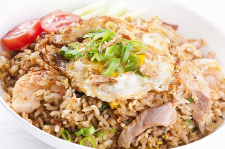 fried rice Khao Pad KAi  photo
