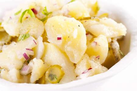 side salad: South German traditional potato salad