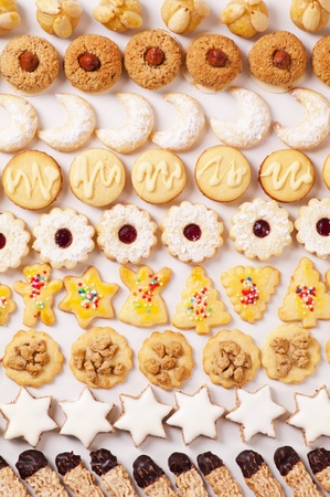 comfit: christmas cookies different sorts
