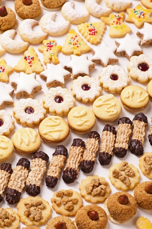 cookies different sorts photo