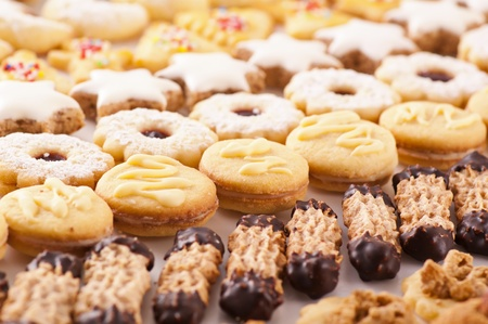 comfit: cookies different sorts