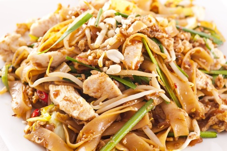 PAd Thai with chicken  photo