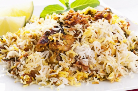 exotically: Chicken Biryani