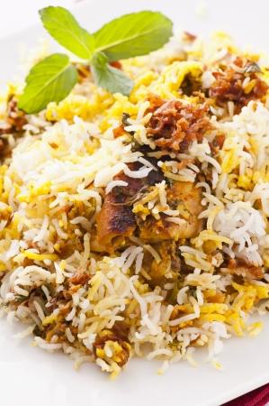 tandoori chicken: Chicken Biryani