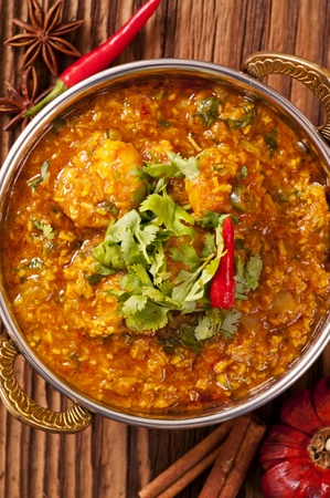 Prawn kurma Stock Photo - 13642532