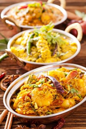 curry: Comida de la India Foto de archivo