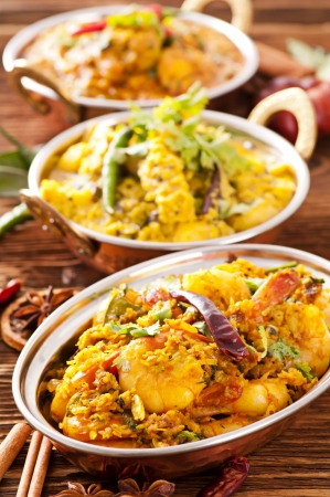 copper: Indian food Stock Photo