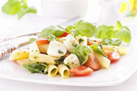pasta salad: Pasta Caprese Salad