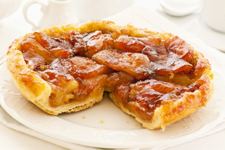 orange tart: Tarte Tatin