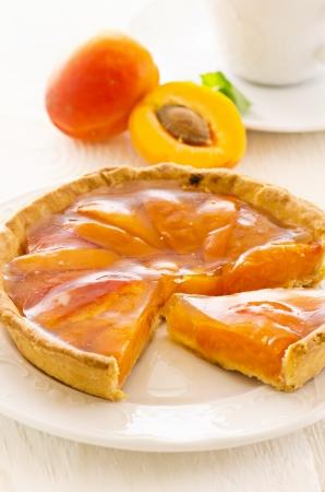 apricot tart photo