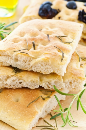lingua: Focaccia with rosemary