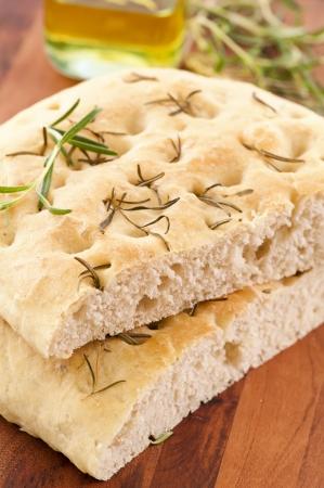 lingua: rosemary bread Stock Photo