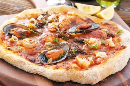 Frutti di Mare pizza photo