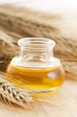 natural wheat germ oil photo