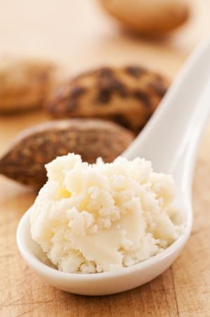 raw material: shea butter