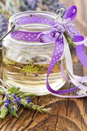 Lavender oil photo