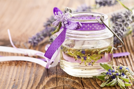 lavender oil photo