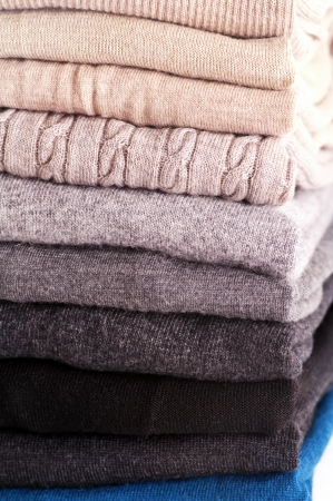 sweaters different colors  photo