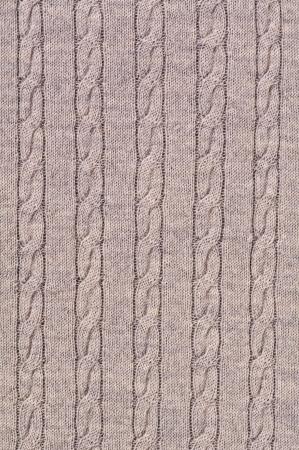 tejidos de punto: cable patr�n