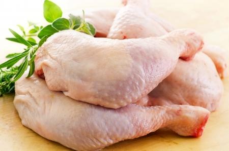 carne de pollo: patas de pollo