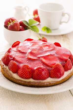 tartlet: strawberry pie