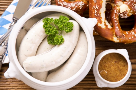 bavarian weisswurst breakfast photo