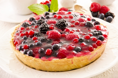 ribes: Tarte with berries