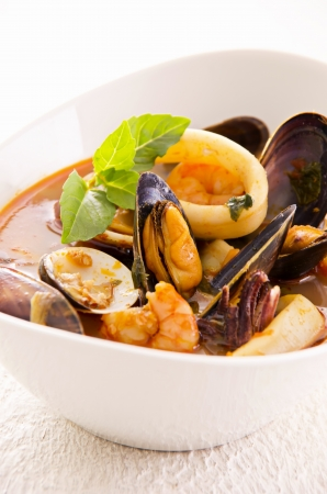 seafood soup Stock Photo - 16268960