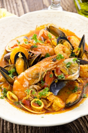 seafood stew  photo