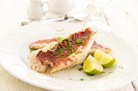 goatfish: goatfish fried with lime