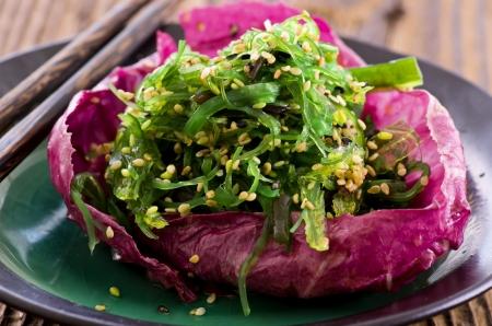 alga marina: Ensalada de algas