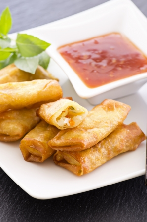 goi: spring rolls Stock Photo