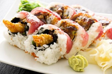 sushi rolls photo