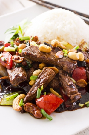 mongolian beef Stock Photo - 18228090