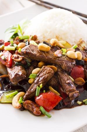 mongolian beef Stock Photo - 18228090