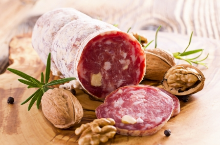 walnut salami photo