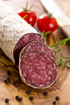 cervine salami Stock Photo - 18228084