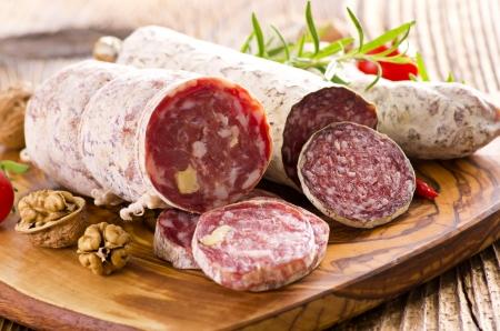 longaniza: salami