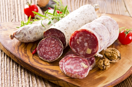 salami different sorts photo
