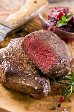 mais: argentinian beef steaks Stock Photo