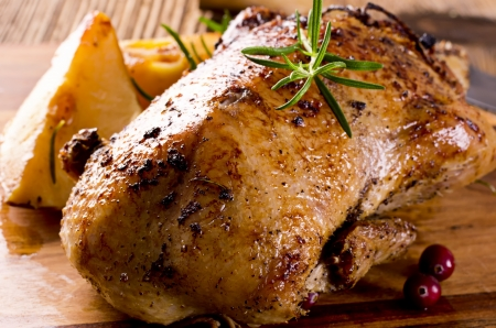 roasted duck on the board Stock Photo - 18228145