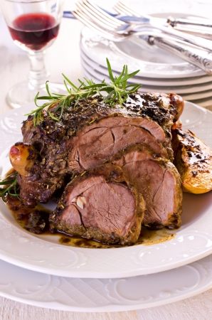 lamb roast photo