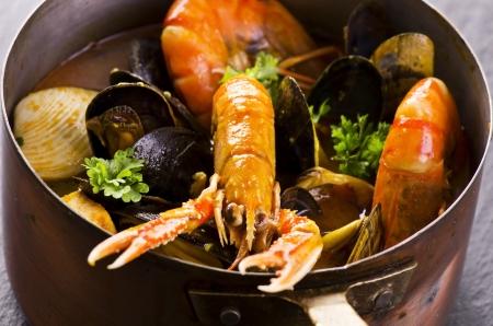seafood soup photo