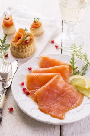 salmon ahumado: salm?n ahumado